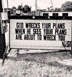 God's plans for you > Your plans for yourself. It might not make sense at the time, but God will certainly mess up the plans you have for… Bible Verses Quotes, Jesus Quotes, Faith Quotes, Scriptures, Christian Life, Christian Quotes, Christian Images, Bibel Journal, Bible Notes