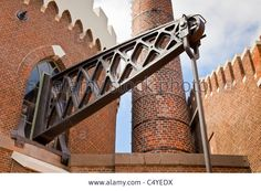 Beam Of Beam Engine At De Cruquius Steam Powered Water Pumping Stock Photo, Picture And Royalty Free Image. Pic. 37483430
