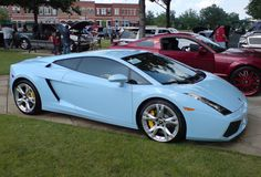 Baby blue 'borghini - Such a clean look. My Dream Car, Dream Cars, Flower Mound, Hot Rides, Love Car, Zoom Zoom, Vroom Vroom, Car Car, Hot Cars