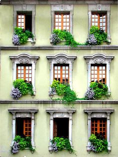 ARCHITECTURE – Windows, Venice, Italy photo via blooloop