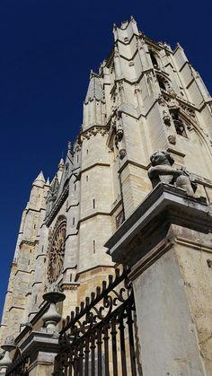 Catedral de León en contrapicado
