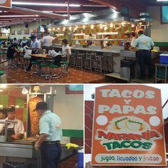 Nuestra taquería favorita--ya hemos comido aquí dos veces: llegando del aeropuerto y llegando de Vallarta. A Paolo le encantan los tacos de pastor aquí.  #SXTNcomida #SXTNvida by Sra. Sexton (Mexico June 2016)