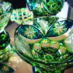 Cut Glass, Glass Art, Sweet Sundays, Glass Ceramic, Stones And Crystals, Gardening, Vase, Japanese, China
