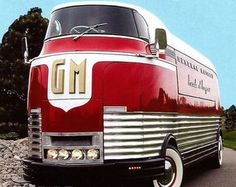 GM Futurliner GM Futurliner was designed in the by Harley Earl. I saw this on display at a car show in Scottsdale AZ.GM Futurliner was designed in the by Harley Earl. I saw this on display at a car show in Scottsdale AZ. Cool Trucks, Big Trucks, Cool Cars, Fancy Cars, Semi Trucks, Classic Trucks, Classic Cars, Vintage Trucks, Station Wagon