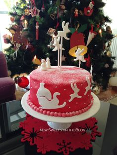 Rudolph cake by Ada Plainaki & New Sweets on the Blog (educational website)