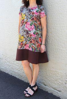 NEW Gabby Dress Pattern - Patterns - Tessuti Fabrics - Online Fabric Store - Cotton, Linen, Silk, Bridal & more