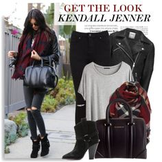 Celebrity Style: Kendall Jenner by monmondefou on Polyvore featuring polyvore fashion style Chicnova Fashion ONLY Miss Selfridge Isabel Marant Givenchy GetTheLook kendalljenner