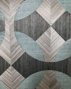 bCd - Textured geometric textile design, ideas to steel!