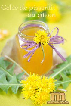 Gelée de pissenlits au citron
