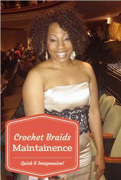 Crochet Braids Maintenance