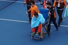 asian game - tennis  부상 ㅠㅠ