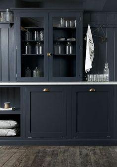classic black kitchen
