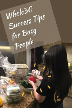 Whole30 Success Tips for Busy People | Girl With A Spatula | 10+ Tips Whole 30, Spaghetti Squash, One Pot Meals, Food Allergies, Good Advice, Whole Food Recipes, Meal Planning, Meal Prep, Success