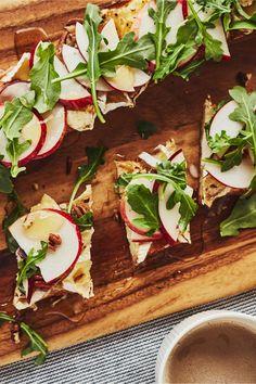 Sweet Breakfast, Breakfast Dishes, Sandwich Croque Monsieur, Brunch, Valeur Nutritive, Nutrition, Oeuvres, Caprese Salad, Sandwiches