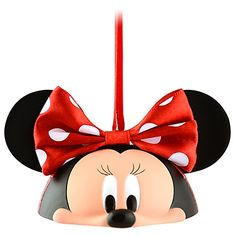 Limited Edition Ear Hat Minnie Mouse Ornament