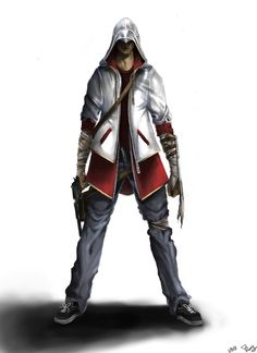 Modern day Assassin concept by ~Springs on deviantART
