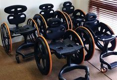 AQ Medicare: Carbon Black Lightweight Wheelchair