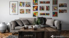 Ali İhsan Değirmenci | Special Living Room by Ali İhsan Değirmenci