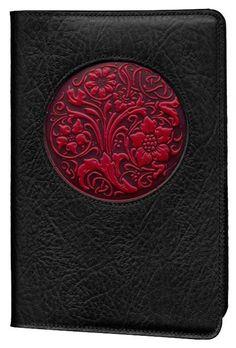 Oberon Design - Wildflower Icon Refillable Leather Journal