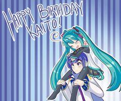 Happy Birthday Kaito by Indiefoxtail.deviantart.com on @DeviantArt