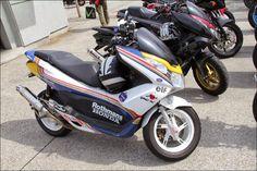 2014 Street motorcycle in Japan- HONDA PCX Rothmans
