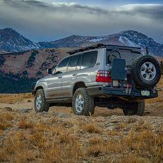 163 вподобань, 24 коментарів – Stan Wright (@stanwrightjr) в Instagram: «Ridin' the storm out. Denver, CO. • #100series #landcruiser #toyotatrails #colorado #denver…» 100 Series Landcruiser, Landcruiser 100, Toyota 4runner, Lexus 4x4, Toyota Land Cruiser 100, Expedition Vehicle, Rav4, Great View, Cars
