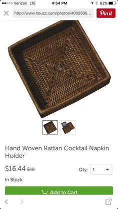 http://www.houzz.com/photos/40325062/Hand-Woven-Rattan-Cocktail-Napkin-Holder-beach-style-napkin-holders
