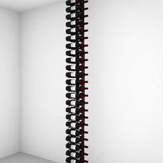 Floor-to-Ceiling | Metal Floor Standing Wine Rack - Ultra Wine Racks Glass Wine Cellar, Wine Glass, Wine Bottle Storage, Wine Racks, Wood Wall Wine Rack, Standing Wine Rack, Metal Floor, Wine Collection, Entertainment Room