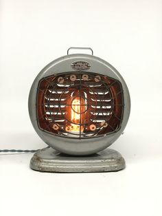 Antique Desk Lamp Sun Valley Industrial by ModernArtifactDecor