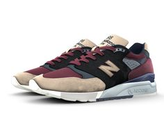 The 998 is a retro look with a modern attitude - and it's arguably one of the most trendsetting silhouettes in our iconic 990 series. Mix and match mesh and premium suede to keep it classic, or give it a fresh look. The 998 fashion trend is all yours.   We're proud to be the only major company to make or assemble more than 4 million pairs of athletic footwear per year in the USA, which represents a limited portion of our US sales.