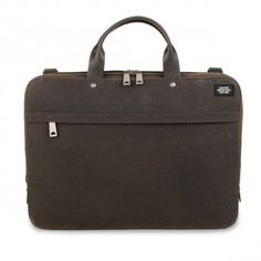 Slimbrief waxwear (chocolate) Jack Spade, York, Chocolate, Notebook Bag, Handbags, Schokolade, Chocolates
