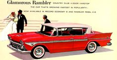 1958 Rambler Country Club Four Door Hardtop