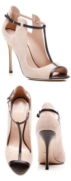 Blush Suede Pumps - Shoes and beauty