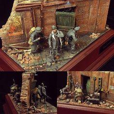 """Did You Hear That?"" diorama. Modeler Sukottu Gurei #scalemodel #scalemodelkit #plastimodelismo #plasticmodel #plastimodelo #miniatura #miniature #maqueta #maquette #modelismo #modelism #modelisme #war #guerra #guerre #bataille #miniatur #hobby #diorama #passatempo #tiempolibre #ミニチュア #моделизм"