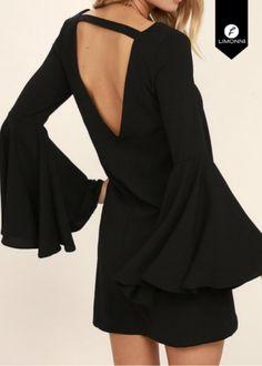 Vestidos para mujer para mujer Limonni Novalee LI1692 Cortos elegantes REF: LI1692 ¿Te gusta? ,Escríbenos a whatsapp +57 3112849928, o al correo comercial@limonni.co.  Visítanos en el sitio web www.limonni.co. Need Supply, Backless, Stylish, Black, Dresses, Fashion, Shopping, Short Elegant Dresses, Cute Dresses