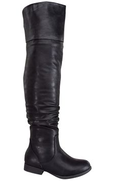 black boots#faux leather boots#tall boots#over the knee boots#flat boots#sexy boots#womens boots#cheap boots