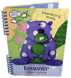 Beaver Notebook Fabric Animals, Recycled Fabric, Our Planet, Recycling, Notebook, Boys, Classic, Fictional Characters, Art