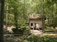 1840's Pioneer Cabin- Tishomingo, Mississippi