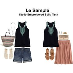 Le Sample Kahlo Embroidered Solid Tank.  https://www.stitchfix.com/referral/4292370
