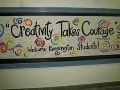 Bulletin Boards to Remember: Creativity Takes Courage