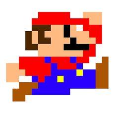 Super Mario - Pixel - Retro Games