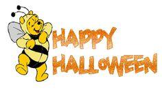 Winnie the Pooh en Feliz Halloween