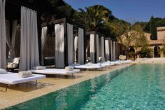 The Muse Hotel is a five-star luxury retreat in Saint Tropez. Great place to be close to the action but far from the crowds. Get the scoop here.
