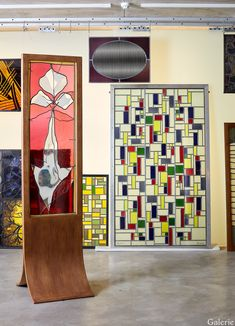 How Artist Brian Clarke Is Pushing the Medium of Stained Glass - Galerie Brian Foster, Foster House, Church Windows, London Life, Art And Architecture, Line Drawing, Art Museum, Stained Glass, Photo Wall