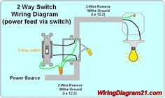 2 way switch with electrical outlet wiring diagram how to wire two- way light switch are you are you searching for a 2 way light switch wiring diagram or electrical circuit in this topic subject will explain to you how to wire 2 way