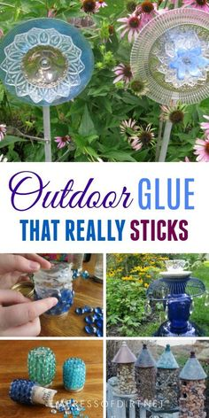 Choosing A Long Lasting Glue For Outdoor Garden Art