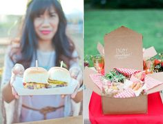 Christy's Gourmet Gifts helps plan a Craft Beer Themed Wedding. Keep it simple with the menu! Think: sliders, snow-cones and picnic lunches packed for each guest.