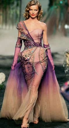 Christian Dior Haute Couture f/w 2005 exquisite structure and design- I want to and will say WOW