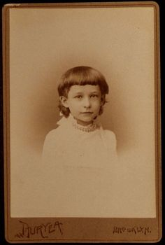 Young Girl, by Duryea Brooklyn New York