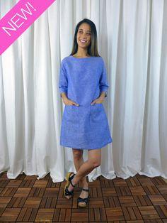 6fa6c653ec2b Lottie Dress   Shirt Sewing Pattern by Christine Haynes Patterns. Kjole ...